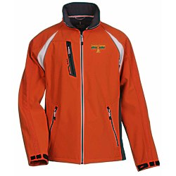 View a larger, more detailed picture of the Katavi Color Block Soft Shell Jacket - Men s