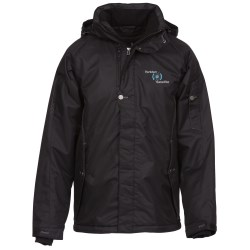 View a larger, more detailed picture of the Andrus Insulated Hooded Jacket - Men s