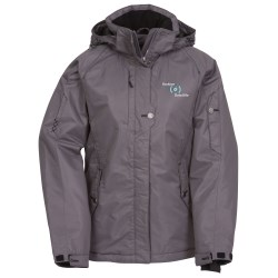View a larger, more detailed picture of the Andrus Insulated Hooded Jacket - Ladies 