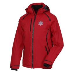 View a larger, more detailed picture of the Enakyo Insulated Hooded Waterproof Jacket - Men s