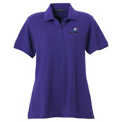 View a larger, more detailed picture of the Madera Pique Polo - Ladies