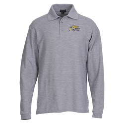 View a larger, more detailed picture of the Donner Long Sleeve Polo