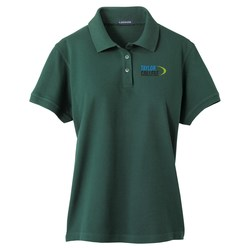 View a larger, more detailed picture of the Ayer Cotton Pique Polo - Ladies 