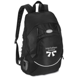 View a larger, more detailed picture of the Contour Laptop Backpack - Closeout