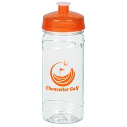 View a larger, more detailed picture of the Clear Impact Cyclone Sport Bottle - 16 oz