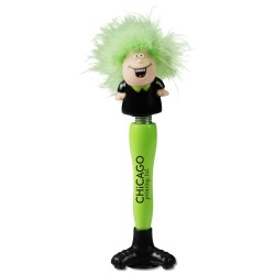 View a larger, more detailed picture of the Chatty Crew Talking Pen -Thanks - Closeout