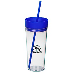 View a larger, more detailed picture of the Templar Tumbler w Straw - 22 oz
