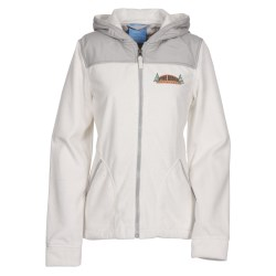 View a larger, more detailed picture of the Serenity Silken Fleece Hoodie - Ladies