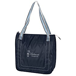 View a larger, more detailed picture of the Color Band Cooler Tote