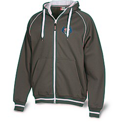 View a larger, more detailed picture of the Hooded Overknit Jacket - Men s