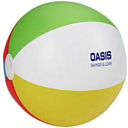 View a larger, more detailed picture of the 16 Beach Ball - Multicolor - 24 hr