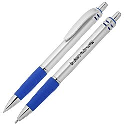 View a larger, more detailed picture of the Salutation Pen - Silver