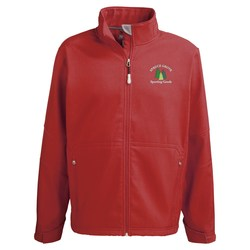 View a larger, more detailed picture of the Cavell Soft Shell Jacket - Men s - 24 hr