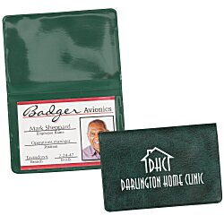View a larger, more detailed picture of the Fold Over Wallet - Executive - Marble
