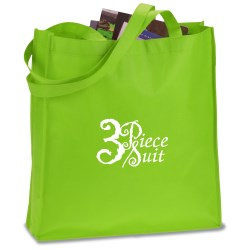 View a larger, more detailed picture of the Large Gusseted Event Tote - Closeout