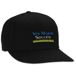 View a larger, more detailed picture of the U-Curve Fitted Flat Bill Cap
