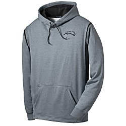 View a larger, more detailed picture of the Tech Fleece Hooded Sweatshirt - Heathered