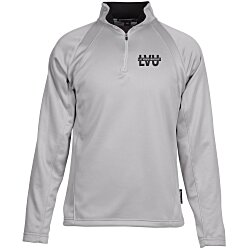 View a larger, more detailed picture of the Athletic 1 4 Zip Fleece Pullover