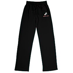 View a larger, more detailed picture of the Open Bottom Sweatpants - Ladies