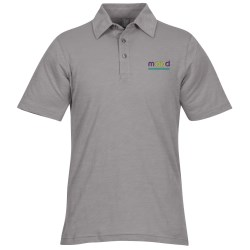 View a larger, more detailed picture of the Ring Spun Cotton Slub Polo - Men s