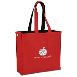 View a larger, more detailed picture of the Polypropylene Felt Snap Tote