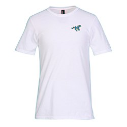 View a larger, more detailed picture of the District Concert Tee - Men s - White - Emb