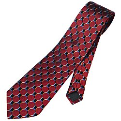 View a larger, more detailed picture of the Honeycomb Silk Tie