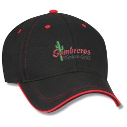 View a larger, more detailed picture of the Medalist Cap - Embroidered