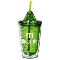 View a larger, more detailed picture of the Cool Gear Wave Tumbler - 16 oz