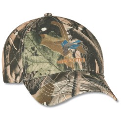 View a larger, more detailed picture of the Polyester Camo Hunter Cap - Embroidered