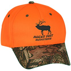 View a larger, more detailed picture of the Blaze Cap w Camo Visor - Transfer