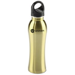 View a larger, more detailed picture of the h2go Venus Stainless Sport Bottle - 24 oz -Closeout