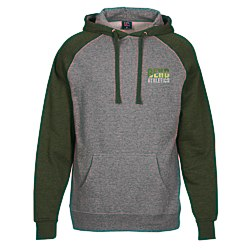 View a larger, more detailed picture of the Independent Trading Co Raglan Hoodie