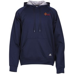 View a larger, more detailed picture of the Russell Athletic Tech Fleece Hoodie - Embroidery