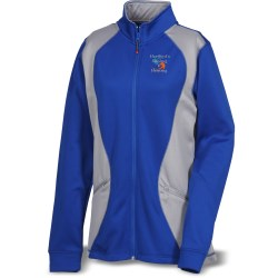 View a larger, more detailed picture of the Russell Athletic Tech Fleece Cadet Jacket - Ladies
