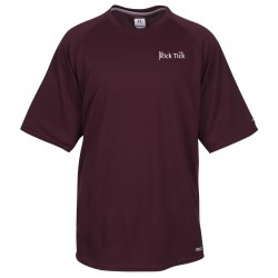 View a larger, more detailed picture of the Russell Athletic Colorblock Dri Power Raglan Tee