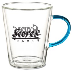 View a larger, more detailed picture of the Vista Glass Mug - 11 oz 