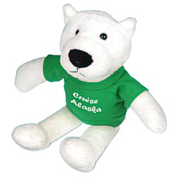 View a larger, more detailed picture of the Mascot Beanie Animal - Polar Bear