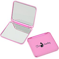 View a larger, more detailed picture of the Magnifying Compact Mirror - Translucent
