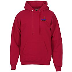 View a larger, more detailed picture of the Hanes Ultimate Cotton Hoodie - Embroidery
