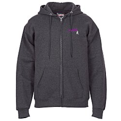 View a larger, more detailed picture of the Hanes Ultimate Cotton Full-Zip Hoodie