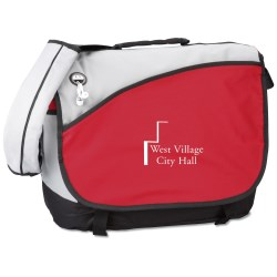 View a larger, more detailed picture of the Freestyle Laptop Messenger Bag- Overstock