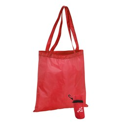 View a larger, more detailed picture of the Clip-on Tote in a Pouch - Closeout