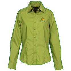 View a larger, more detailed picture of the Preston EZ Care Dress Shirt - Ladies
