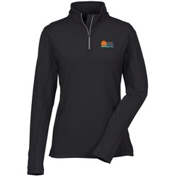 View a larger, more detailed picture of the Caltech Performance 1 4 Zip Pullover - Ladies 