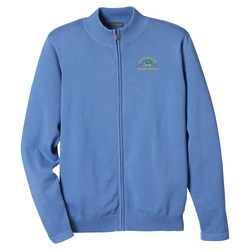 View a larger, more detailed picture of the Varna Full Zip Sweater - Men s