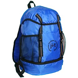 View a larger, more detailed picture of the Trail Loop Drawstring Backpack - 24 hr