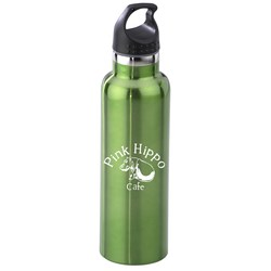 View a larger, more detailed picture of the h2go Bolt Stainless Vacuum Sport Bottle - 20 oz -Closeout