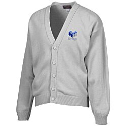 View a larger, more detailed picture of the Acrylic V-Neck Cardigan - Men s - 24 hr