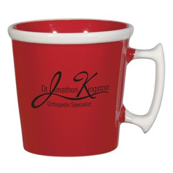 View a larger, more detailed picture of the Twice as Nice Mug - 11 oz - Closeout